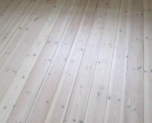 høvling af malinng på gulv