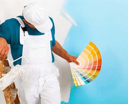 Malerarbejde i Greve